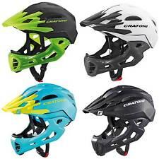 Cratoni C-Maniac - Downhill Helm MTB All-Mountain Helm Fahrradhelm mit Kinnbügel