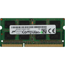 Micron 8GB PC3L-14900S 2RX8 DDR3-1866MHZ 1.35v SO-DIMM Laptop Memory RAM