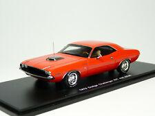 Spark S3612 1/43 1970 Dodge Challenger R/T 426 Hemi Resin Model Car