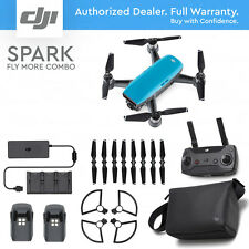 DJI SPARK FLY MORE COMBO - Sky Blue. 12MP Camera, 1080p Video, Active Track