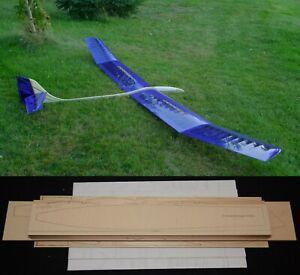 "174"" Ws SAGITTA XC R/c Glider Plane Partial kit/short kit and plans, PLS READ !"