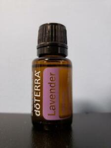 doTERRA Lavender Essential Oil Supplement - 15 mL - New / Sealed! Exp 9/2024!