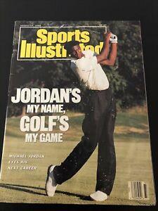 Vintage August 14 1989 Sports Illustrated Michael Jordan-Golf's My Game!