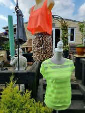 Womens summer clothes bundle 8/10 neon animal print BNWT and used festival