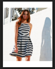 BNWT Forever New Striped Sun Dress Size 16
