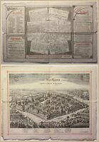 Orig. Prospekt Die Stadt Leipzig 1894 Sachsen Geografie Geschichte Geographie sf