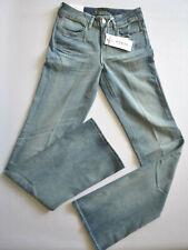 GUESS Womens Jeans Sarah Bootcut Long Light Blue Faded Cotton Denim W27 L36.