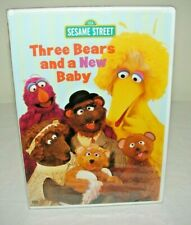 Sesame Street: Three Bears and a New Baby (Dvd) *Brand New* Sealed!