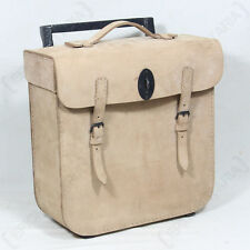WW2 GERMAN BMW LEATHER PACK - NATURAL Repro R75 Wehrmacht Motorcycle Panniers