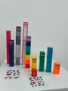 CBeebies Numberblocks ,1-10 Number Blocks 100% GENUINE new educational toy