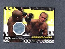 2010 Topps UFC Fight Mat Relics #FMJDS Junior dos Santos UFC 108 UFC 076