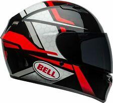 BELL CASCO INTEGRALE MOTO HELMET QUALIFIER FLARE GLOSS BLACK RED TAGLIA L 60 CM