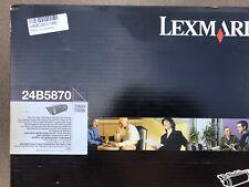 BRAND NEW GENUINE LEXMARK 24B5870 EXTRA HIGH YIELD BLACK 30000 Pages TN654 TN656