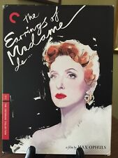 THE EARINGS OF MADAME DE...- Criterion Collection Digipack DVD, #445, R1, Rare