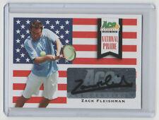 ZACK FLEISHMAN 2013 Ace Authentic NATIONAL PRIDE Autograph #NP-ZF1 SP AUTO