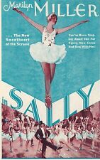 "Marilyn Miller ""SALLY"" Jerome Kern / Joe E. Brown 1930 South Pasadena Herald"