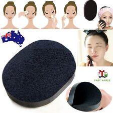 Bamboo Charcoal Facial Puff Face Deep Cleansing Washing Sponge Makeup Foundation