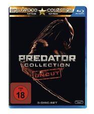 Predator 1-3 Collection Blu-ray Uncut NEU OVP Predator 1+2+Predators