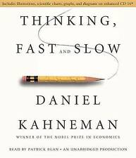 Thinking, Fast and Slow by Daniel Kahneman - MP3 Audiobook