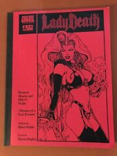 Lady Death (2001) Limited Ed Between Heaven and Hell #1 Script Book Brian Pulido