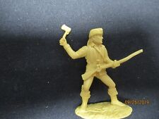 Barzso: Daniel Boone Figure 1/32 Scale in Cream Color (Daniel Boone Playset)