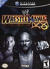 WWE WrestleMania X8 (Nintendo GameCube, 2002) CIB