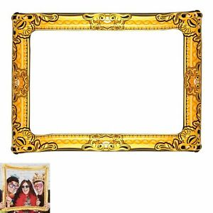 GIANT INFLATABLE PHOTO FRAME Selfie Booth Props Blow Up Hen Party Fun Wedding