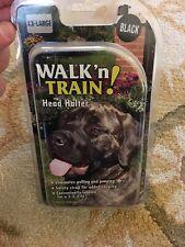 COASTAL WALK N TRAIN NO PULL HEAD HALTER XXL BLACK OLD HOLT #5 Last One Look