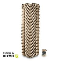 Klymit Insulated Static V Recon Sleeping Camping Pad - Certified Refurbished