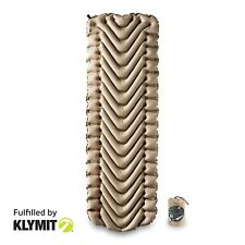 Klymit Insulated Static V Recon Sleeping Camping Pad - Factory Refurbished