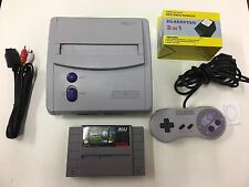 SUPER NINTENDO CONSOLE MINI SNES GAME SYSTEM ORIGINAL SNS-101 GOLF NES HQ #10
