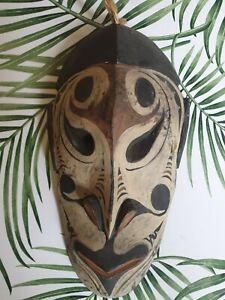 Vintage painted Sepik mask - PNG / Oceanic Arts