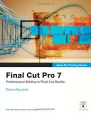 Apple Pro Training Series: Final Cut Pro 7,Diana Weynand