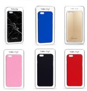 Happy Plugs iPhone 6S & 6 Slim Case Cover & Screen Protector Black/Silver/Gold