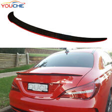 Carbon Fiber Red Boot Lip Trunk Spoiler for Mercedes W117 CLA200 CLA250 45 AMG