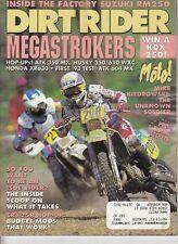 DIRT RIDER - August 1992 - Kevin Hines / Honda XR650L / Mike Kiedrowski