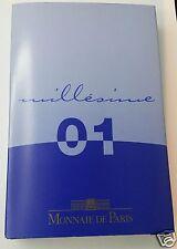 FRANCE PROOF BE COFFRET BELLE EPREUVE 2€ à 1ct 2001