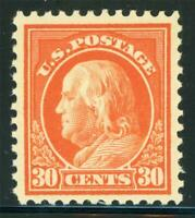 USA 1917 Washington 30¢ Perf 11 Unwmk Scott # 516 MNH X894