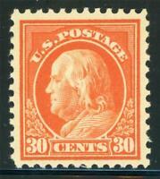 USA 1917 Washington 30¢ Perf 11 Unwmk Scott # 516 MNH X894
