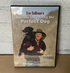 SECRETS TO TRAINING THE PERFECT DOG, DVD 2 DISC SET, DON SULLIVAN, 2008