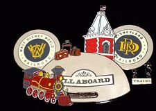 LE JUMBO Walt Disney Pin✿Mickey Mouse 50 Years Railroad Train Locomotive RARE LE