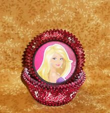 Barbie Cupcake Papers,Wilton,415-6065,Pink,Party,Cake Decoration