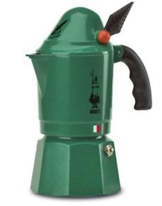 Bialetti 3 Cup Alpina Stovetop Moka Pot Espresso Maker 3 Cup Fast Shipping