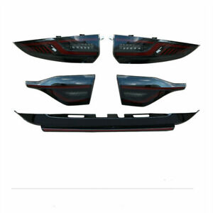 For Toyota US Corolla 2020-2021 LED Tail lights Assembly Smoke LED Rear Lamps
