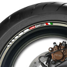 12 X Aprilia Rs 125 Stripe Rueda Llanta Stickers Calcomanías-Mille Vrs Rs125