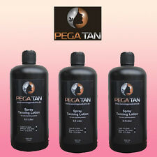 Spray Tanning Lotion x  3 Flaschen a´ 500 ml 8%,12%,14% DHA