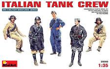 WW II Italian Tank Crew (a semovente, FIAT, Ansaldo, ecc.) 1/35 MINIART