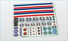 HERBIE Volkswagen VW Decals Kit Sand Scorcher Tamiya Stickers 1:24 24th Scale