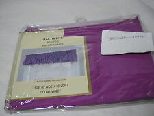 """Curtain of Character by United """"Baltimore"""" Balloon Window Valance - Violet 60x16"""