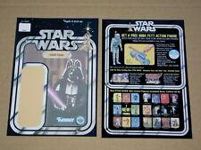 Vintage Star Wars ALL BACKING CARDS,ORIGINAL SIZE! FRONT AND BACKS! CARDBACK.2